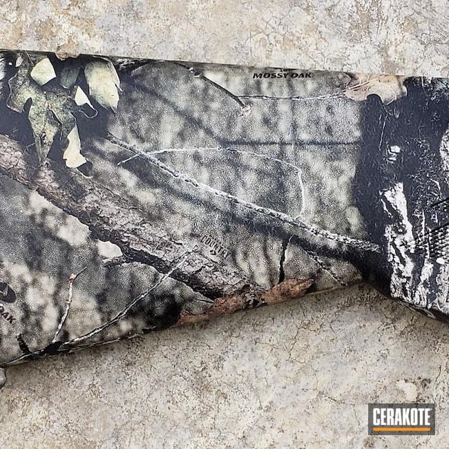 Cerakoted: S.H.O.T,Hydrographics,Shotgun,MATTE CERAMIC CLEAR MC-161,Matte Ceramic Clear