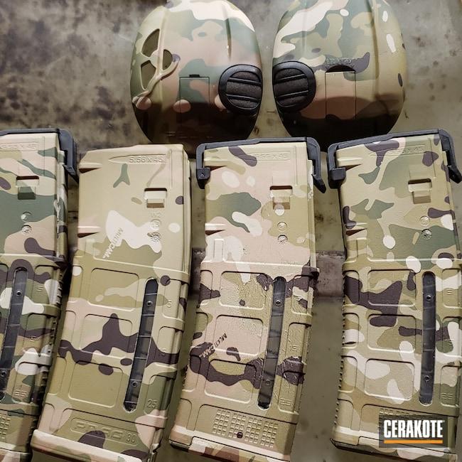 Cerakoted: S.H.O.T,Hydrographics,Magazines,MultiCam,MATTE CERAMIC CLEAR MC-161,Holster,Gun Parts,Matte Ceramic Clear