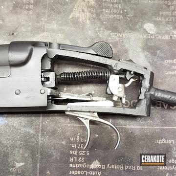 Cerakoted Restored Gun Parts In H-146