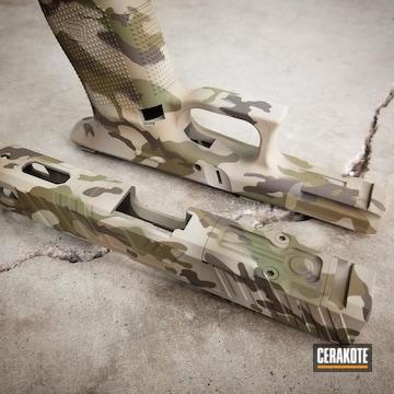 Cerakoted Multicam Zev Glock
