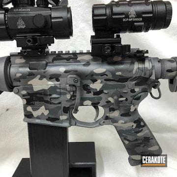 Cerakoted Custom Multicam In H-234, H-139 And H-146
