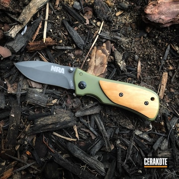 Cerakoted Gerber Knife In H-189