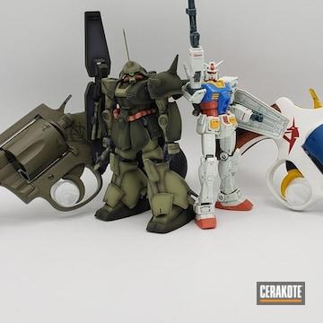 Cerakoted Gundam Themed Revolvers