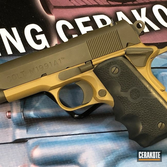 Cerakoted: Noveske Tiger Eye Brown H-187,S.H.O.T,.45,Colt,Colt 1911,Patriot Brown H-226,1911