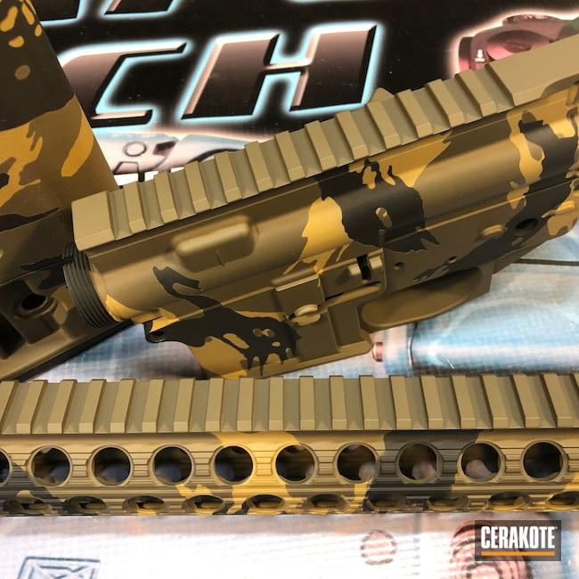 Cerakoted: Noveske Tiger Eye Brown H-187,S.H.O.T,Rhodesian Camo,Graphite Black H-146,Patriot Brown H-226,Gun Parts,5.56,AR-15
