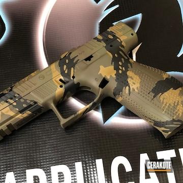 Cerakoted Custom Cz P-10 In H-187, H-146 And H-236