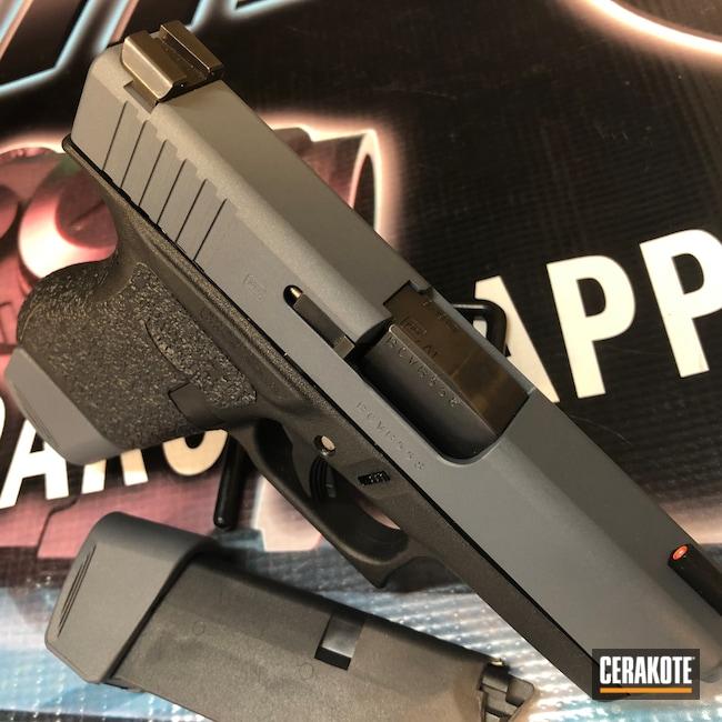 Cerakoted: S.H.O.T,9mm,Pistol,Glock,COBALT KINETICS™ SLATE H-295,Glock 43