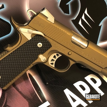 Cerakoted Springfield 1911 In H-158, H-146 And H-148