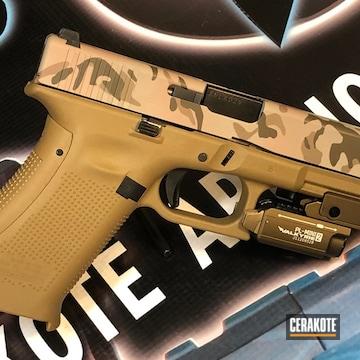 Cerakoted Glock 19x Multicam In H-267 And H-226