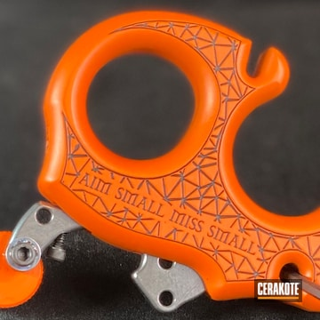 Cerakoted Custom Laser Engraved Carter Archery Release