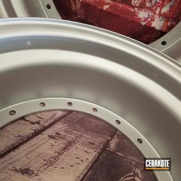 Cerakoted 3 Piece Aluminum Wheels In C-7700