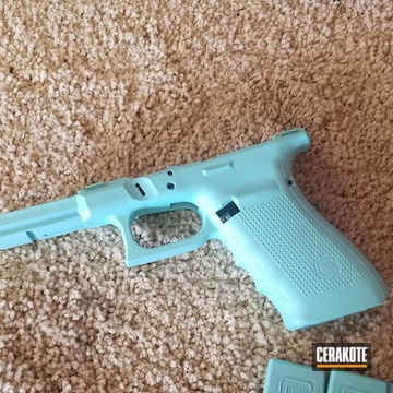 Cerakoted Glock Frame In H-175