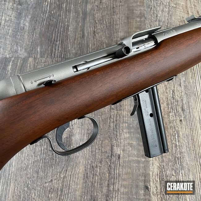 Cerakoted: S.H.O.T,Rifle,Squibman,Graphite Black H-146,SAVAGE® STAINLESS H-150,Model 20A,22lr,.22