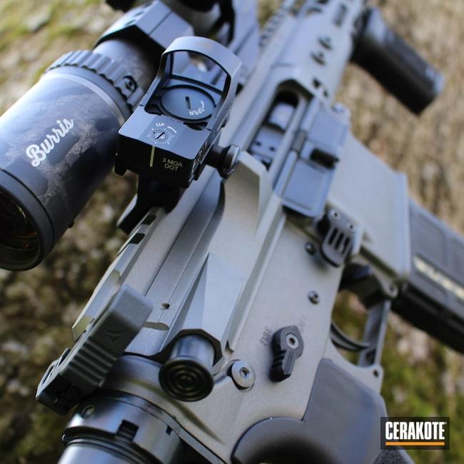 Cerakoted: S.H.O.T,#custom,Tactical Rifle,.223,Tactical Grey H-227,Bushmaster,5.56,AR-15
