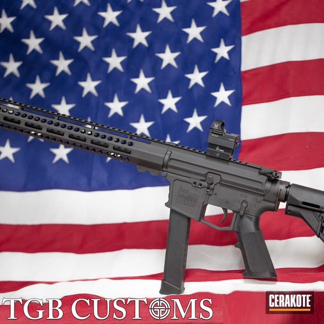 Cerakoted: SHOT,9mm,New Frontier Armory,Graphite Black H-146,Tactical Rifle,PCC,Custom Build