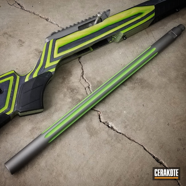 Cerakoted: SHOT,10/22,Ruger,Ruger 10/22,tactcal solutions,Boyds Gun Stock,Tactical Solutions,SAVAGE® STAINLESS H-150,Zombie Green H-168,Tac Sol