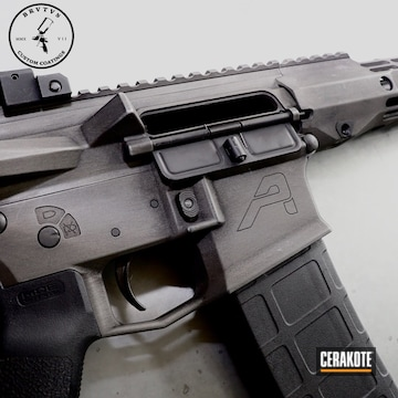 Cerakoted Custom Aero Precision Ar Build In H-146 And H-170