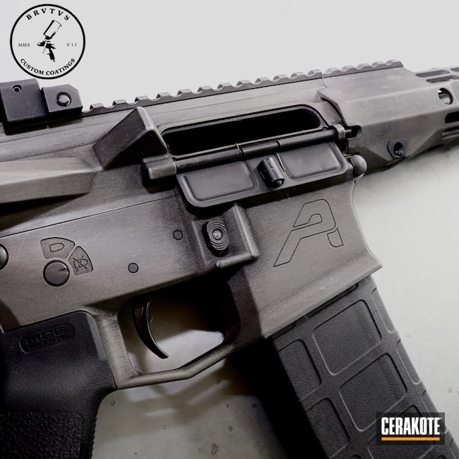 Cerakoted: SHOT,Aero Precision,Graphite Black H-146,Titanium H-170,Tactical Rifle,.223,AR Build