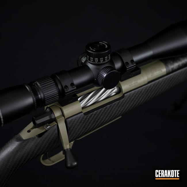 Cerakoted: SHOT,Rifle,Bolt Action Rifle,6.5 Creedmoor,Snowy Mountain Rifles,MULTICAM® DARK GREEN H-341