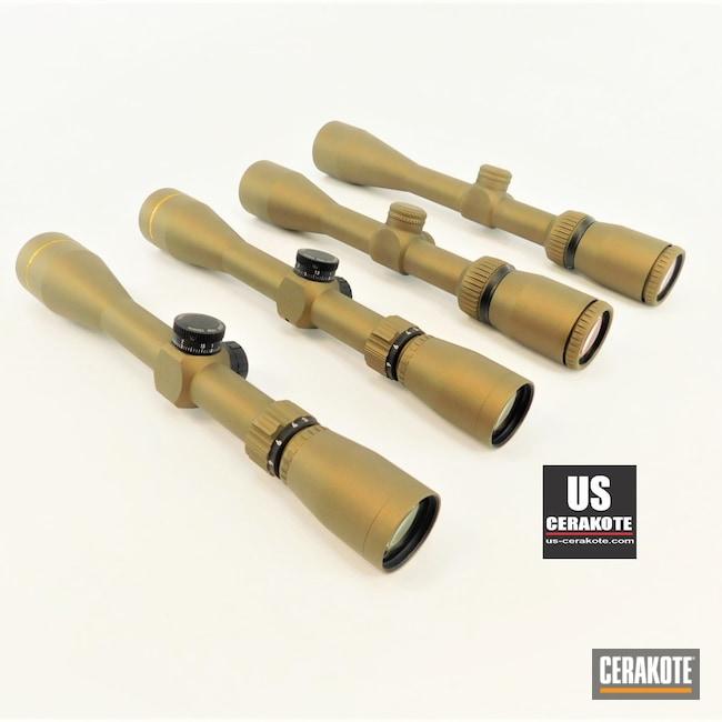 Cerakoted: S.H.O.T,Vortex,Scope,Scopes,Vortex Scope,Leupold Scope,Burnt Bronze H-148,Crossfire,Freedom,Leupold