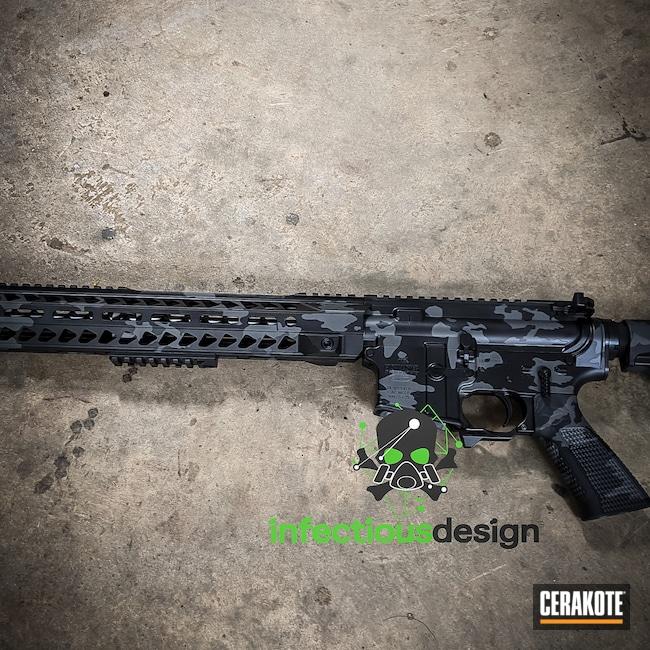 Cerakoted: S.H.O.T,MultiCam,BLACKOUT E-100,Elite Series,Tactical Rifle,.223,Concrete E-160,AK Rifle,Semi-Auto,Bushmaster,AR-15
