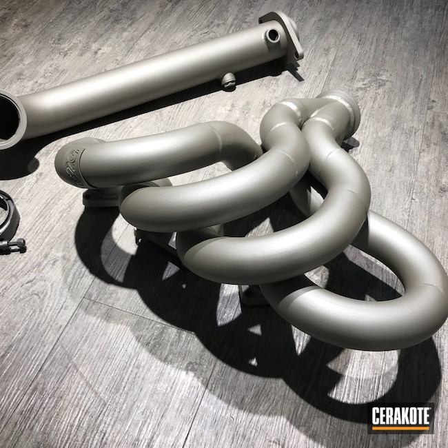 Cerakoted: CERAKOTE GLACIER TITANIUM C-7900,More Than Guns,Headers,Automotive