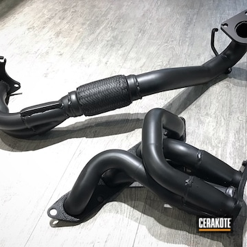 Cerakoted Custom Headers In C-7600