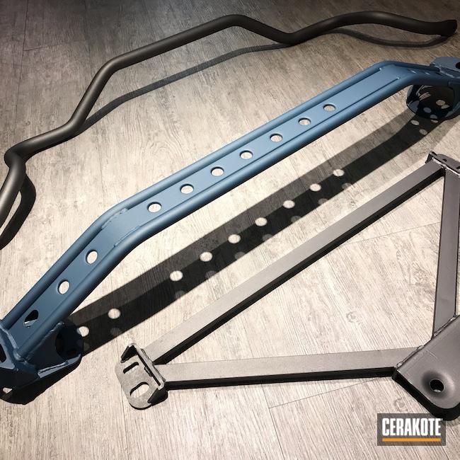 Cerakoted: TRD,Tungsten H-237,Miscellaneous,Blue Titanium H-185