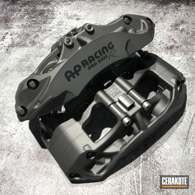 Cerakoted: Brake Calipers,Graphite Black H-146,Tungsten H-237,More Than Guns,Automotive