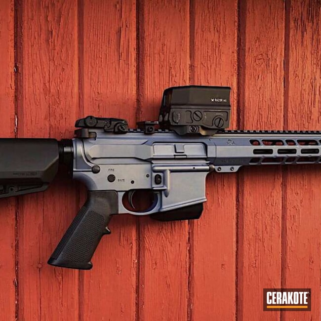 Cerakoted: S.H.O.T,M&P,Smith & Wesson,NORTHERN LIGHTS H-315,Tactical Rifle,5.56