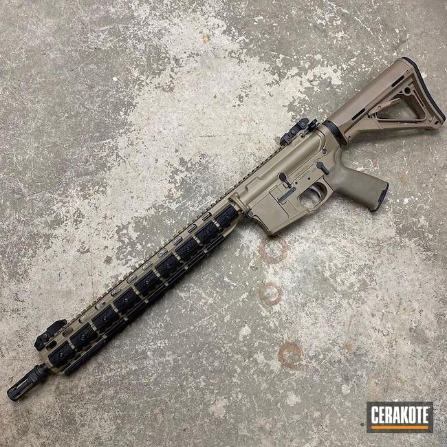 Cerakoted: S.H.O.T,MAGPUL® FLAT DARK EARTH H-267,LT15 Portable Sawmill,Tactical Rifle,Guns,LaRue