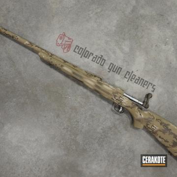 Cerakoted Custom Multicam Bolt Action Rifle