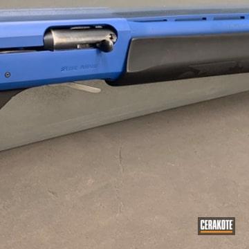 Cerakoted Two Tone Remington 11-87 Shotgun In H-171
