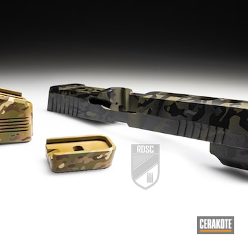Custom Multicam Gun Parts