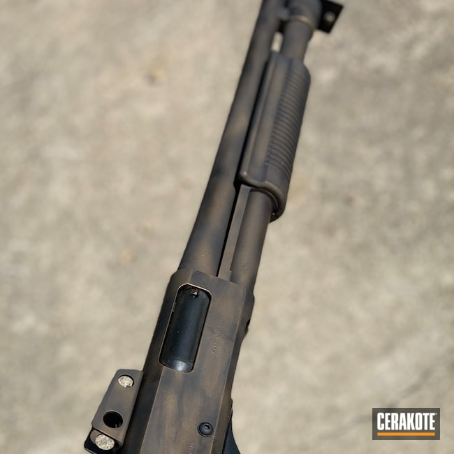 Cerakoted: SHOT,Shotgun,Burnt Bronze H-148,12 Gauge