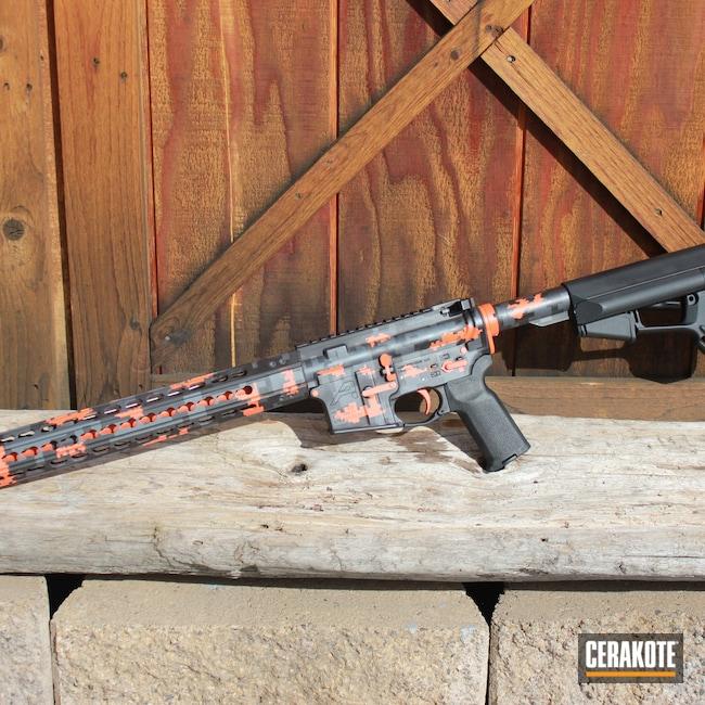 Cerakoted: S.H.O.T,Aero Precision,Sniper Grey H-234,AR Pistol,Graphite Black H-146,Tactical Rifle,Hunter Orange H-128,AR-15