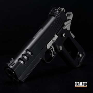 Cerakoted Two Toned Rock Island Armory 2011 Handgun