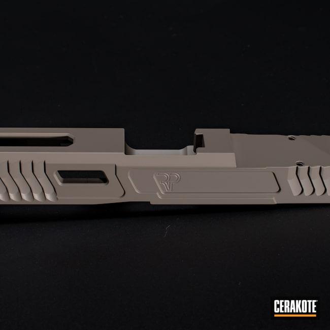 Cerakoted: S.H.O.T,MAGPUL® FLAT DARK EARTH H-267,Firearm,Pistol,Glock,Slide,Slide Milling