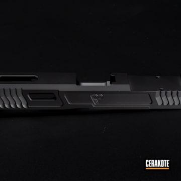 Cerakoted Milled Glock Slide In H-146