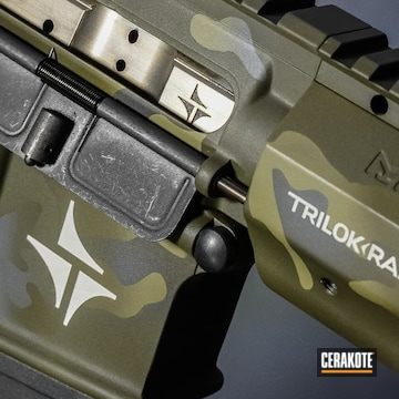 Cerakoted Triarc Systems Tsr-15s In H-236, H-232, H-262 And H-204