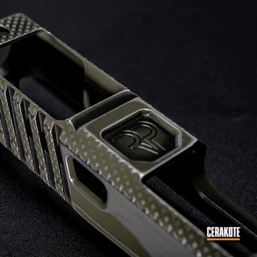 Cerakoted Custom Glock Slide