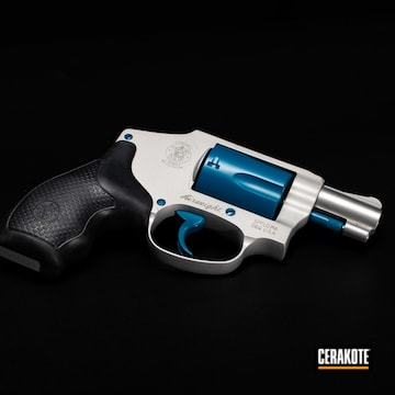 Cerakoted Cerakote .38 Special Revolver In H-169