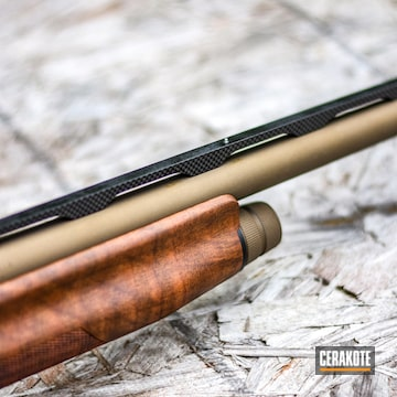 Cerakoted Benelli Ultra Lite 12 Gauge In H-148