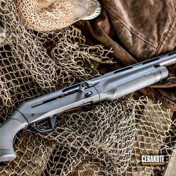 Cerakoted Duck Hunting Benelli Sbe2 In H-170