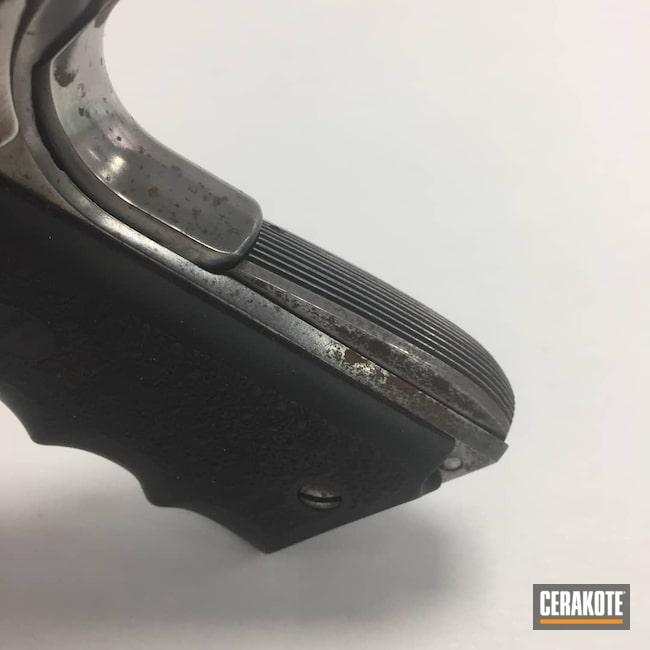 Cerakoted: S.H.O.T,.45,1911A1,Graphite Black H-146,Two Tone,Tungsten H-237,Pistol,Springfield Armory,1911
