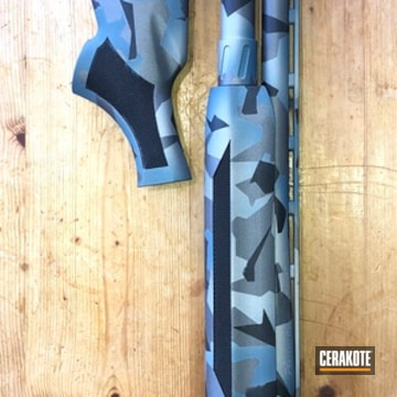 Cerakoted Mossberg 940 Jm Pro Splinter Camo