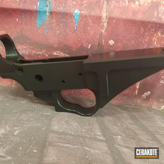 Cerakoted: S.H.O.T,BLACKOUT E-100,AR Project,Elite,AR Build,AR-15,AR15 Lower