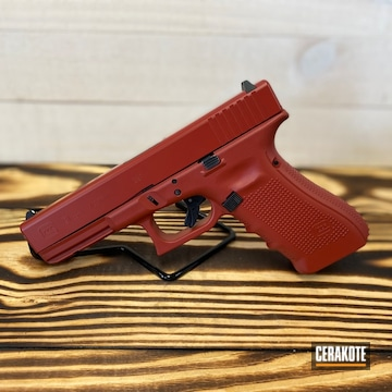 Cerakoted Solid Toned Glock 31 In H-221