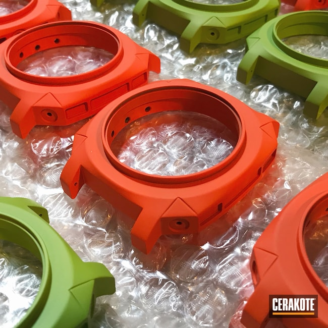 Cerakoted: Lifestyle,Zombie Green H-168,More Than Guns,Hunter Orange H-128,Watches