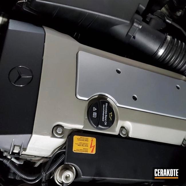 Cerakoted: CERAKOTE GLACIER TITANIUM C-7900,More Than Guns,Valve Covers,Mercedes,Automotive